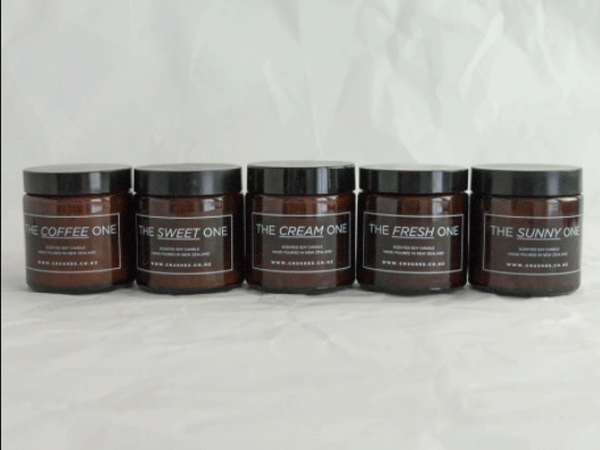 crushes candles
