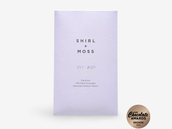 Shirl and Moss Chocolate bar